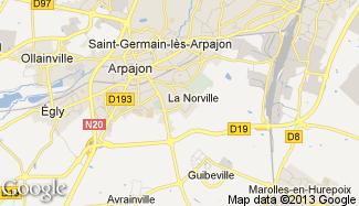 Plan de La Norville