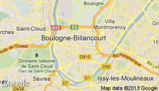 Plan de Boulogne-Billancourt