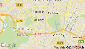 Plan de Châtenay-Malabry