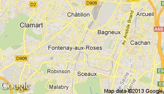 Plan de Fontenay-aux-Roses