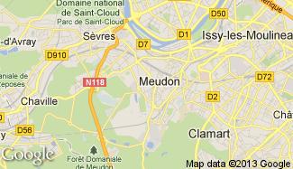 Plan de Meudon
