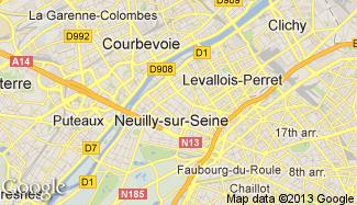Plan de Neuilly-sur-Seine