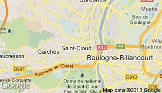 Plan de Saint-Cloud