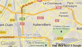Plan de Aubervilliers