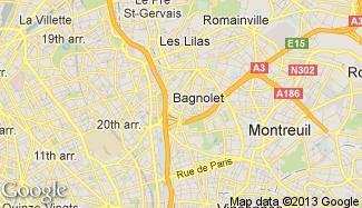 Plan de Bagnolet