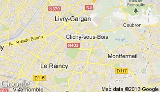 Plan de Clichy-sous-Bois
