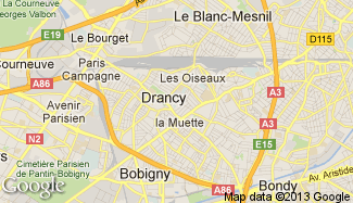 Plan de Drancy