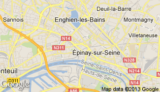 Plan de Épinay-sur-Seine
