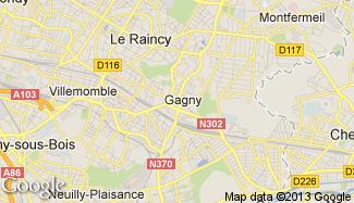 Plan de Gagny