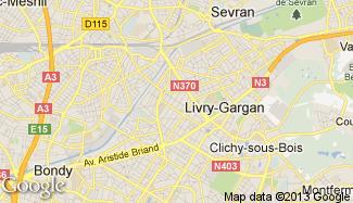 Plan de Livry-Gargan