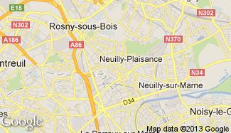 Plan de Neuilly-Plaisance
