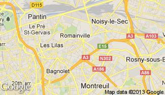 Plan de Romainville