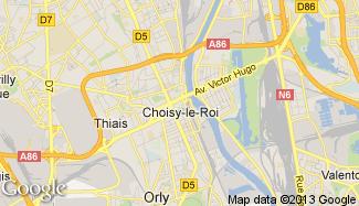 Plan de Choisy-le-Roi