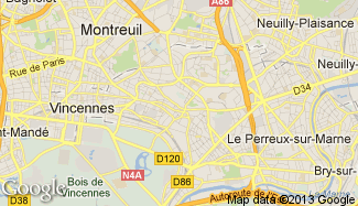 Plan de Fontenay-sous-Bois