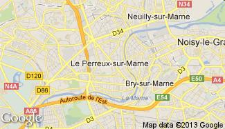 Plan de Le Perreux-sur-Marne