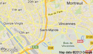 Plan de Saint-Mandé