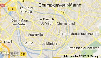Plan de Saint-Maur-des-Fossés