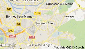 Plan de Sucy-en-Brie