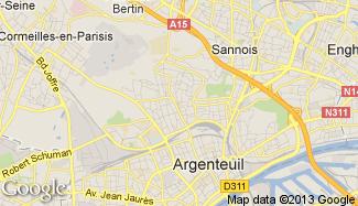 Plan de Argenteuil