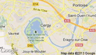 Plan de Cergy