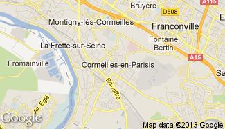 Plan de Cormeilles-en-Parisis
