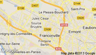 Plan de Franconville