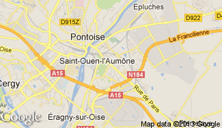 Plan de Saint-Ouen-l'Aumône