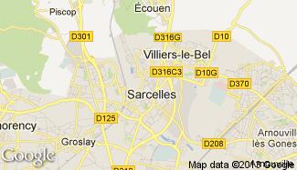 Plan de Sarcelles