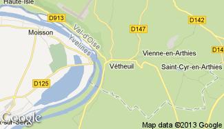 Plan de Vétheuil