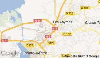 Plan de Les Abymes