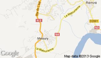 Plan de Matoury
