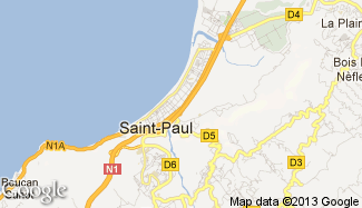 Plan de Saint-Paul