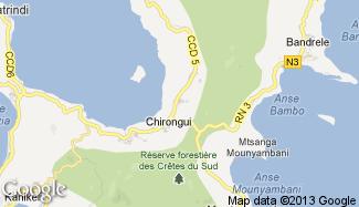 Plan de Chirongui