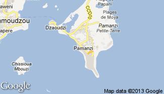 Plan de Pamandzi