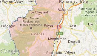 Plan de l'Ardèche