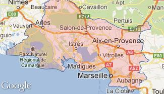 Plan des Bouches-du-Rhône
