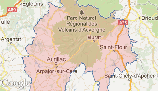 Plan du Cantal