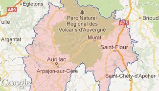 Plan du Cantal