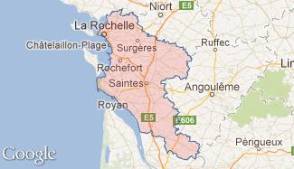Plan de la Charente-Maritime