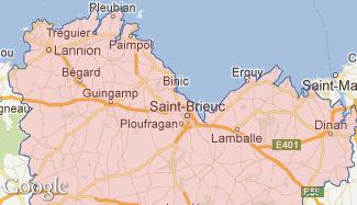 Plan des Côtes-d'Armor