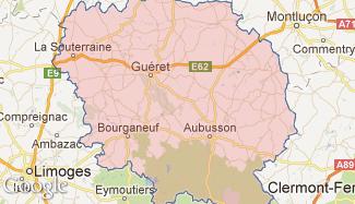 Plan de la Creuse