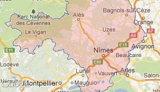 Plan du Gard