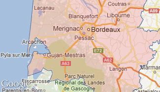 Plan de la Gironde