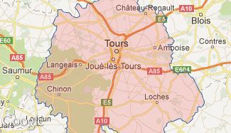 Plan de l'Indre-et-Loire
