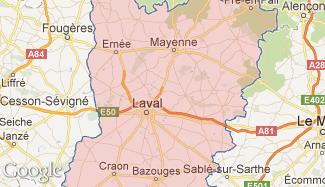 Plan de la Mayenne