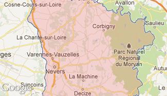 Plan de la Nièvre