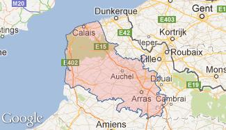 Plan du Pas-de-Calais