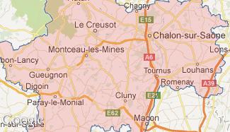 Plan de la Saône-et-Loire
