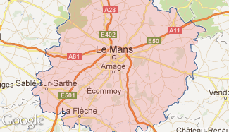 Plan de la Sarthe
