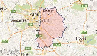 Plan de la Seine-et-Marne
